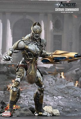 THE AVENGERS - Chitauri Commander 1/6th Scale Action Figure (Hot Toys) #NEW