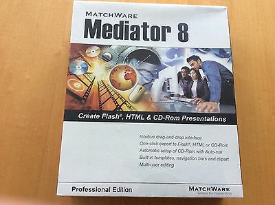 Mediator 8 Professional Edition, Create Flash, HTML, & CD ROM Presentation