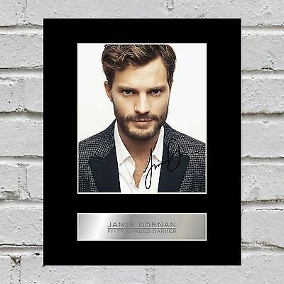 Jamie Dornan Signed Mounted Photo Display Fifty Shades Darker