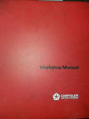 Genuine Chrysler Imp Chamois Workshop Manual