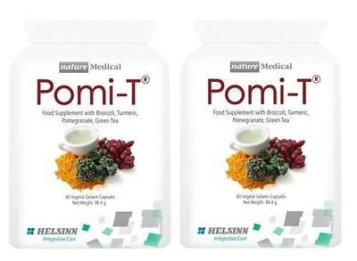 Pomi-T Polyphenol Food Supplement - 60 Capsules (Pack of 2)
