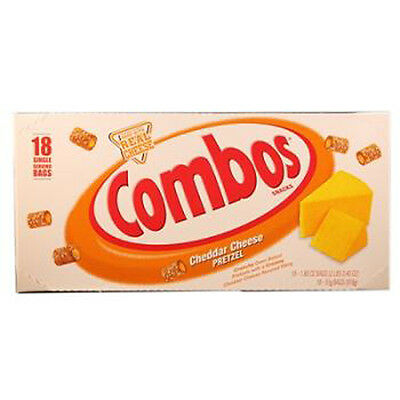 Combos Cheddar Cheese Pretzel 1.8 Oz Each ( 18 In A Pack )