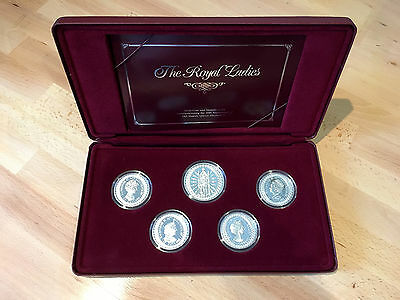 1992 Australian Masterpieces in Silver - The Royal Ladies Coin and Medallion Set