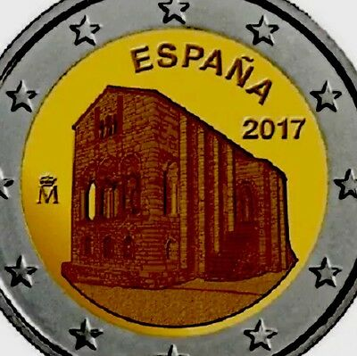 Spain 2 Euro Coin 2017 Commemorative Oviedo New BUNC from Roll Espana