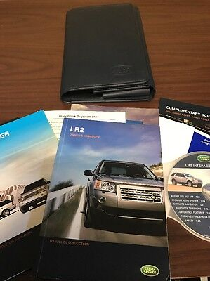 2008 Land Rover LR2 Owners Manual Case Books Cd
