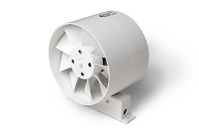 In-line fan + timer, bathroom, extraction, ventilation, ducting, plastic