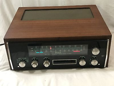 McIntosh MX-112 Tuner/Pre Amplifier with wood case