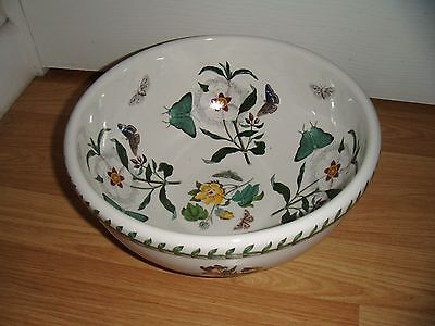 PORTMEIRION BOTANIC GARDEN LARGE 10 INCH MIXING BOWL ~ 1st QUALITY ~ EXCELLENT