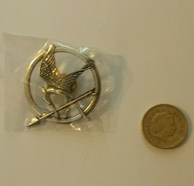Unofficial Mockingjay badge from Hunger Games
