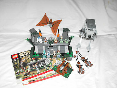 LEGO Star Wars The Battle of Endor (8038) 99 % complete with manuals