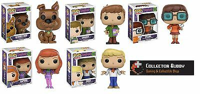 Funko Pop! All Five Animation 149-153 Scooby Doo Action Figures Shaggy Pop