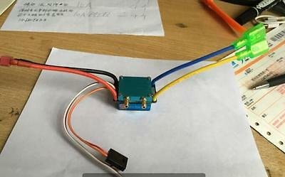 480A Water-cooled Brushed ESC for dual motor 540 550 775 W/revise big current