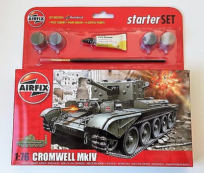 New Airfix 1:72 Scale Cromwell Mkiv Model Kit A55109