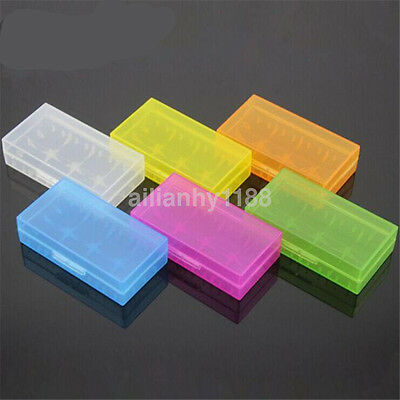Practical Plastic Battery Holder Case For batteries Storage Box Color Random AU