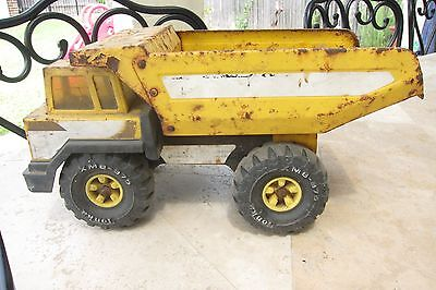 1980s large vintage metal Tonka Dump Truck Heavy Duty Construction Sand pit Toy