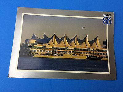 Expo 86 Vancouver Post Card
