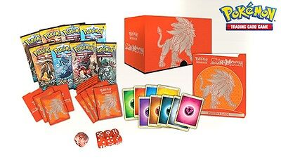 POKEMON - Sun & Moon - Solgaleo Elite Trainer Box - 8 booster packs, & much more