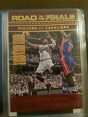 Kyrie Irving 2016-17 NBA Hoops Road to the Finals No.1 #466/2016