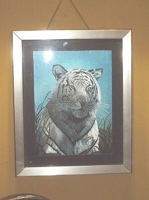 """Foil imaging, small (up to 14""""), dealer, unsigned, tiger, unknown date, open ed"""