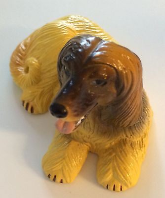 Afghan Hound New Ray Dog Figure Toy Miniature Long Haired Collectible