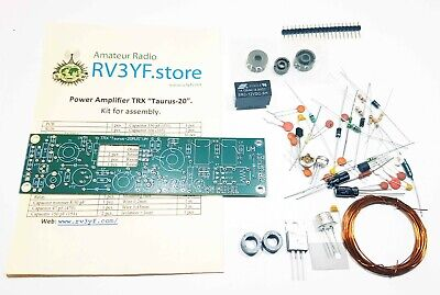 Power Amplifier unit for QRP SSB Trasmitter «Taurus-20». KIT for assembly.