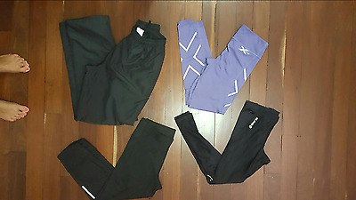 2Xu Skins Track And Feild Etc Tights Pants Crops Compression Pants Track Pants