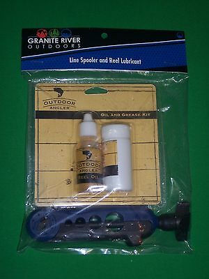 Granite River Outdoors Line Spooler and Reel Lubricant