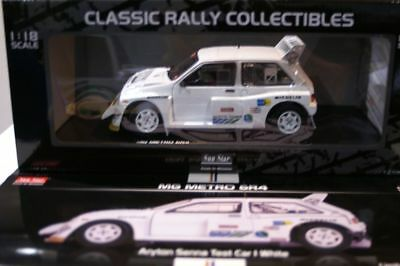 SunStar MG Metro 6r4 Aryton Senna Test car 5538 1:18