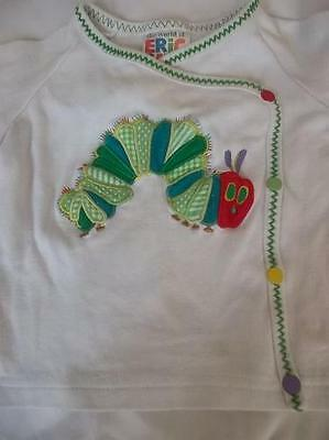 Very Hungary Caterpillar Matinee Jacket Top  Ages 3-6 months VGC