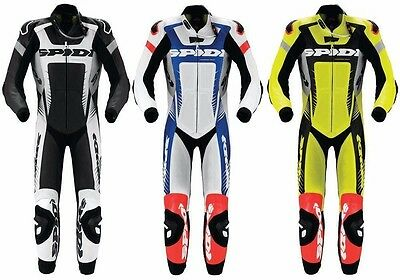SPIDI Motorbike Leather Suit Motorcycle Custom CE Armoured Any Colours/Sizes