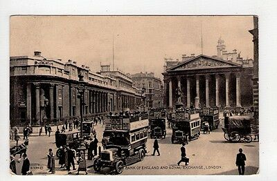 505-Cpa-Bank Of England And Royal Exchange London