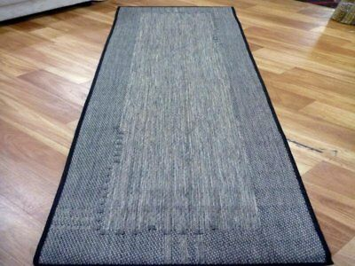 Hall Runner 66x230cm Flatweave Gest Block Metal