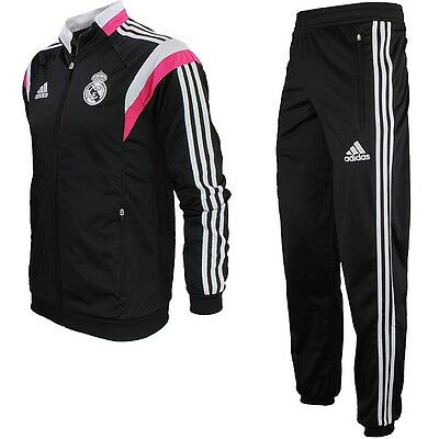 Adidas Real Madrid PR Herren Trainingsanzug Fitness Jogging NEU