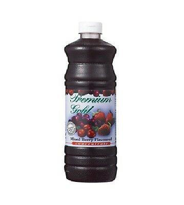 1 x Amway : Premium Gold Juice Concentrate - Mixed Berries ( 1L ) FREE DELIVERY