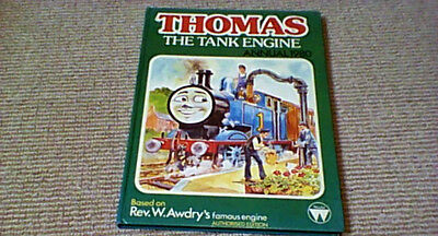 THOMAS THE TANK ENGINE ANNUAL 1980 1st UK HB SIGNED by Rev. W. Awdry