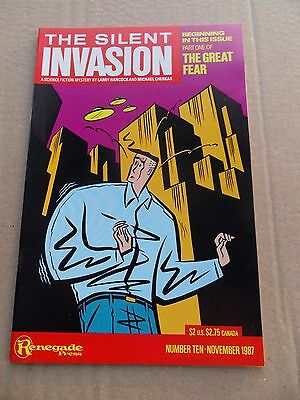 Silent Invasion , the  10 . Renegade Press -1987 - VF