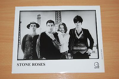 STONE ROSES RARE ORIGINAL GEFFEN GLOSSY PRESS RELEASE PHOTO Promo