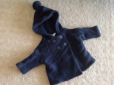 Cotton On Baby Navy Cardigan 0000