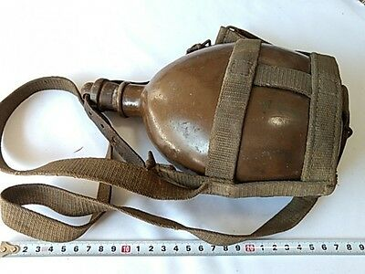 Original WWII Japanese Military Soldier's Canteen-H-