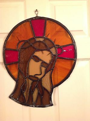 Stained Glass Wall Hanging Of Jesus Christ