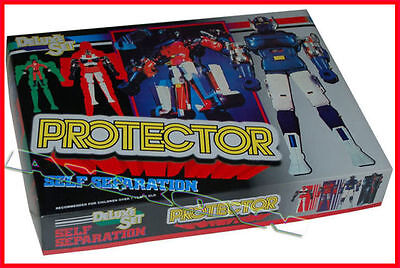 Gordian Protector Deluxe Set Die Cast Anni 80' (Cms Brave 30)