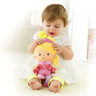 Fisher Price Princess Mommy Chime Doll Soft & Cuddly With Chime Sounds Cgn68