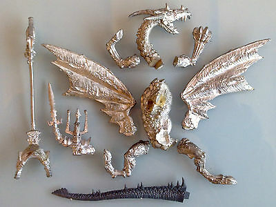 Undead / Vampire Counts -  Lord on Dragon Zombie - Incompl, Metal, Oop CV03