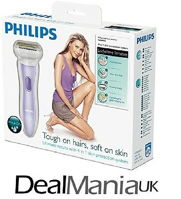 Philips HP6368/02 Ladyshave Sensitive / 4 in 1 Skin Protection (Damaged Box)