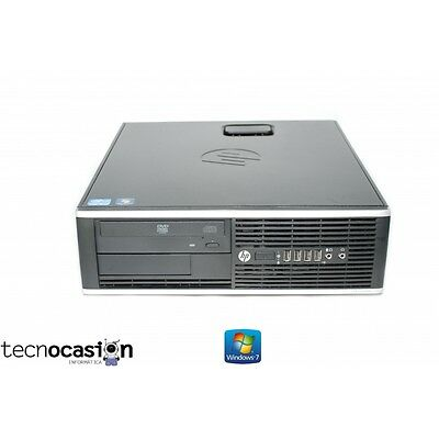 HP 8300 SFF CORE i5-3570 3.40Ghz 4Gb 500Gb DVD PC HP Compaq Elite