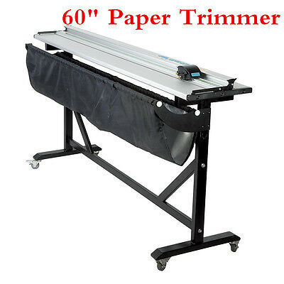 """60"""" Aluminum Alloy Large Format Paper Trimmer Paper Cutter + Support Stand"""