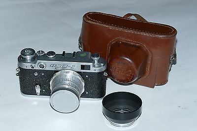 FED 2 Vintage Range Finder 35mm camera.