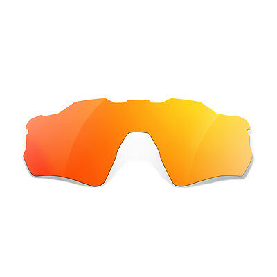 SURe Polarized Fire Iridium Replacement Lenses for Oakley Radar EV