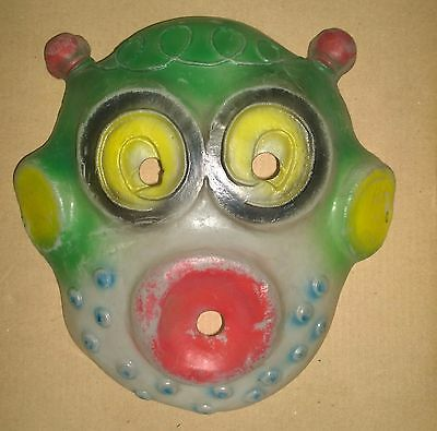 vintage martian mask rubber rare