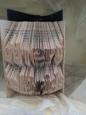 Book folding art pattern Mother of the Bride folded book (pattern only)